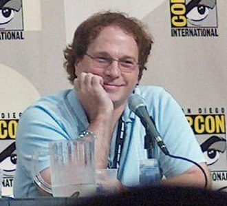 Don Payne (writer) - Payne at the 2008 San Diego Comic-Con panel for The Simpsons