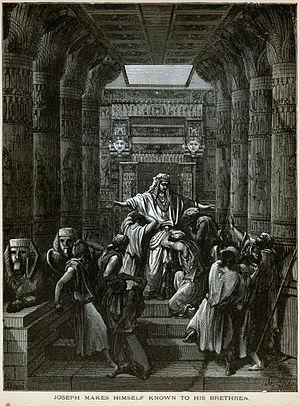 Dore Bible Joseph Makes Himself Known to His Brethren