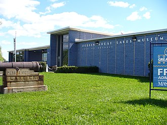 Dossin Great Lakes Museum - The Dossin Great Lakes Museum is located in Belle Isle Park