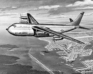 Douglas C-132 - Artist's concept of the C-132