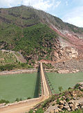 Downstream Temporary Bridge of Jinsha Hydropower Station.jpg