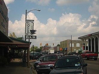 Bay City, Texas - Image: Downtown Bay City, TX IMG 1041