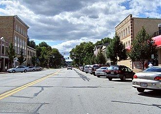 National Register of Historic Places listings in Beaver County, Pennsylvania - Image: Downtown Beaver Pennsylvania
