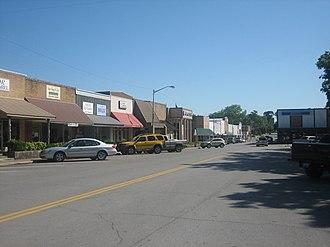 Caldwell, Texas - Downtown Caldwell