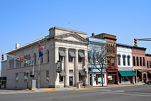 Plymouth, Indiana - Downtown Plymouth