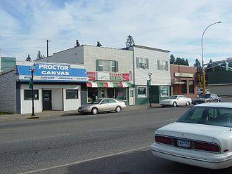 Proctor, Minnesota - Downtown Proctor along U.S. Highway 2