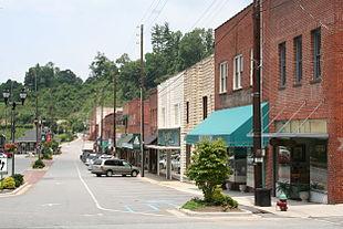 Main Street, Spruce Pine NC