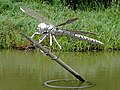 Dragonfly sculpture at Hatton Locks, Warwickshire - geograph.org.uk - 963120.jpg