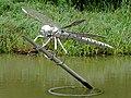 Dragonfly sculpture at Hatton Locks, Warwickshire - geograph.org.uk - 963120.jpg