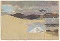 Drawing, Studies of Mount Chimborazo, Ecuador, 1857 (CH 18202091).jpg