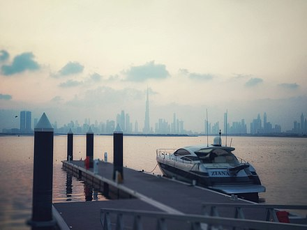 A view of the Dubai Creek from a harbour Dubai Creek Harbour 1.jpg