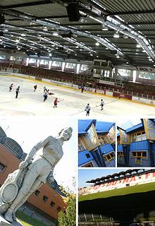 Ice Hockey Stadium of Dunaújváros