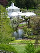 Dunedin Botanic Garden, entrance