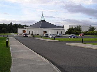 Dungloe - Dungloe Catholic Church, usually known locally as 'the Chapel'.