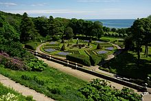 The Gardens As Viewed From Castle