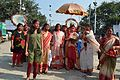 Durga Idol Immersion Procession - Baja Kadamtala Ghat - Kolkata 2012-10-24 1406.JPG