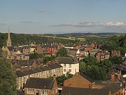 Durham roofscape - geograph.org.uk - 897766.jpg