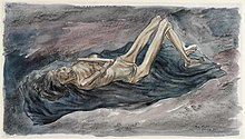 Dying from Starvation and Torture at Belsen Concentration Camp, 1945 (Art.IWM ART LD 5584).jpg