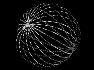 Kardashev scale - Figure of a Dyson swarm surrounding a star