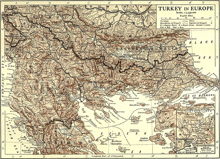 1911 Encyclopædia Britannica/Turkey - Wikisource, the free