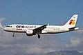 EC-FDB A320-211 Iberia OneWorld PMI 25SEP10 (5033438810).jpg
