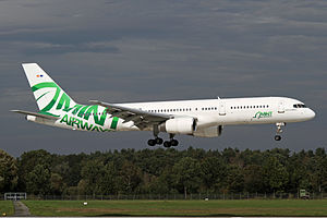 Mint Airways - Mint Airways Boeing 757 at Hannover Airport