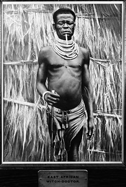 East African witch doctor Wellcome M0002713