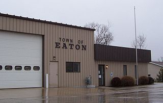 Eaton, Manitowoc County, Wisconsin Town in Wisconsin, United States