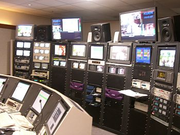 digital control room for KUED and UEN-TV at th...