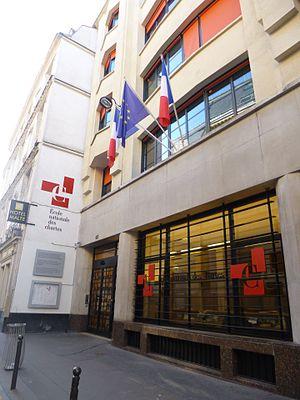 École Nationale des Chartes - The new building of the École, located 65, rue de Richelieu