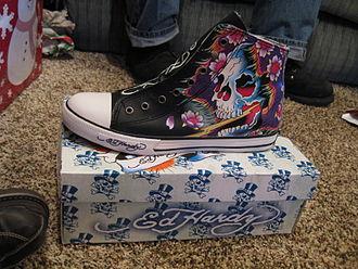 Don Ed Hardy - 2008 Ed Hardy brand shoe.
