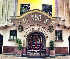Ernesto Buenrostro - Edificio San Martín on Avenida México in the Condesa area of Mexico City, famous for its art deco architecture.