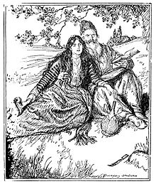Edmund J Sullivan Illustrations to The Rubaiyat of Omar Khayyam First Version Quatrain-011.jpg