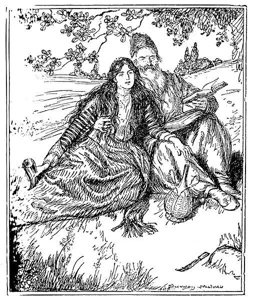 File:Edmund J Sullivan Illustrations to The Rubaiyat of Omar Khayyam First Version Quatrain-011.jpg