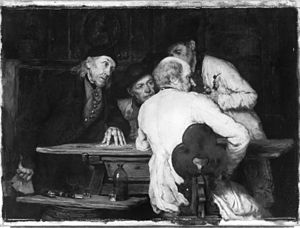 Annoyance - The Dispute by Eduard Kurzbauer