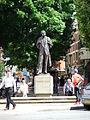 Edward Elgar statue, Worcester, England - DSCF0683.JPG