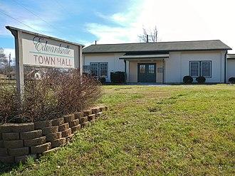 Edwardsville, Alabama - Image: Edwardsville, Alabama Town Hall