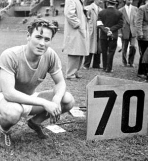 Egil Danielsen - Image: Egil Danielsen 1953