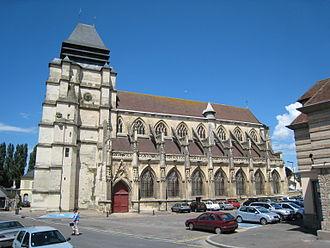 Pont-l'Évêque, Calvados - Saint Michael's Church in Pont-l'Évêque