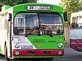 Ehemaliger Üstra-Bus, der jetzt in Russland fährt.jpg