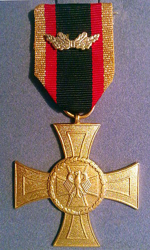 Badge of Honour of the Bundeswehr - Cross of Honour for Valour