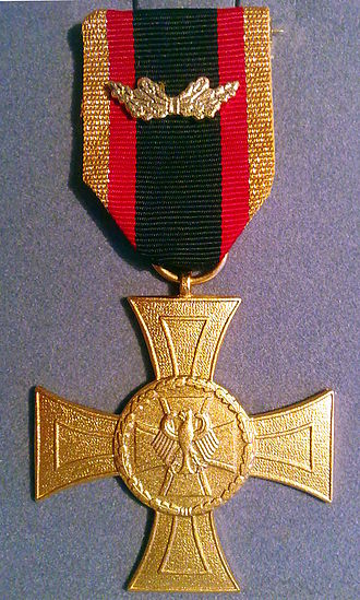 Bundeswehr Cross of Honour for Valour - The Bundeswehr Cross of Honour for Valour
