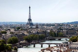 Grand Paris Métropole in Île-de-France, France