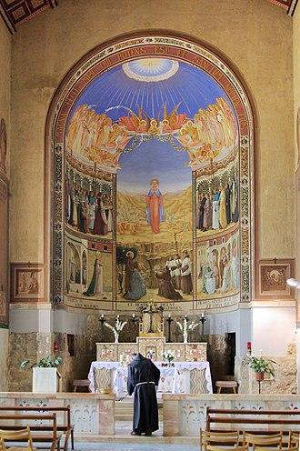 Church of the Visitation - Image: Ein Karem BW 5