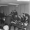 Einde bezoek bondskanselier dr Ludwig Erhard en gaf persconferentie in het Haag, Bestanddeelnr 916-1326.jpg