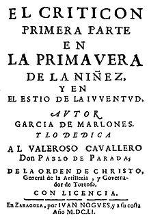 <i>El Criticón</i>