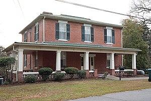 Wilkinson County, Georgia - Image: Elam Camp house, Gordon, GA, US (05)