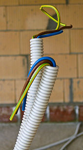 electrical wiring wikipedia rh en wikipedia org wire colour code nz electric cable colour codes nz