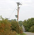 Electricity transformer southeast of Napton - geograph.org.uk - 1496104.jpg