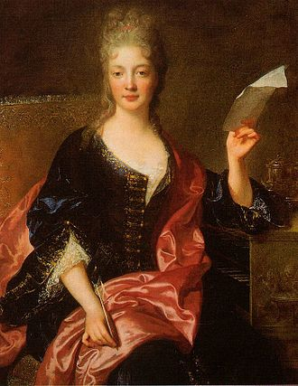 Élisabeth Jacquet de La Guerre - Élisabeth Jacquet de La Guerre painted by François de Troy.